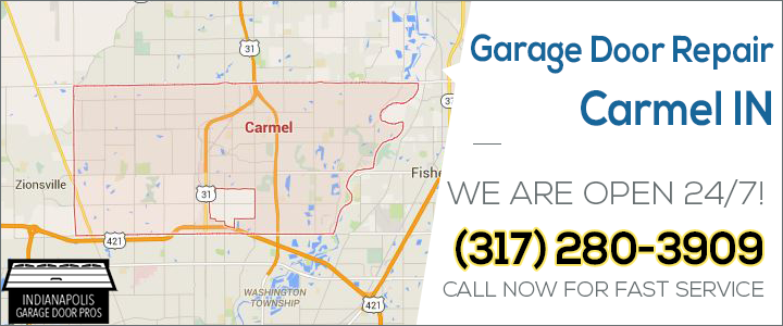 garage door repair carmel in