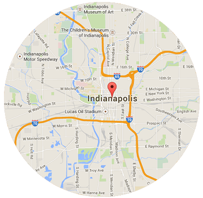 Indianapolis Garage Door Service Areas