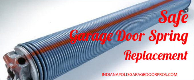 indianapolis garage door spring replacement